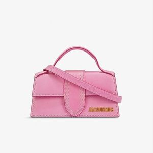 JACQUEMUS Pink Le Bambino Clutch - NEW IN BOX